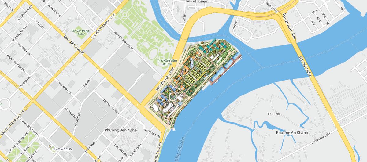 Vị trí dự án Grand Marina