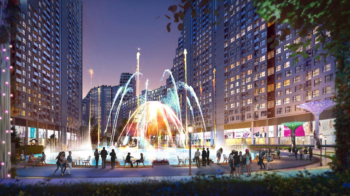 Tiện ích dự án căn hộ chung cư River City Quận 7 Đường Đào Trí chủ đầu tư Phát Đạt ..