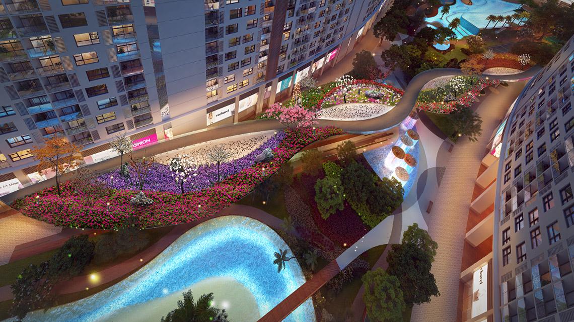 Tiện ích dự án căn hộ chung cư River City Quận 7 Đường Đào Trí chủ đầu tư Phát Đạt
