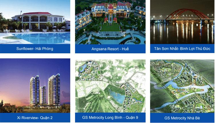 Các dự án nổi bật của tập đoàn GS E&C Hàn Quốc tại Việt Nam